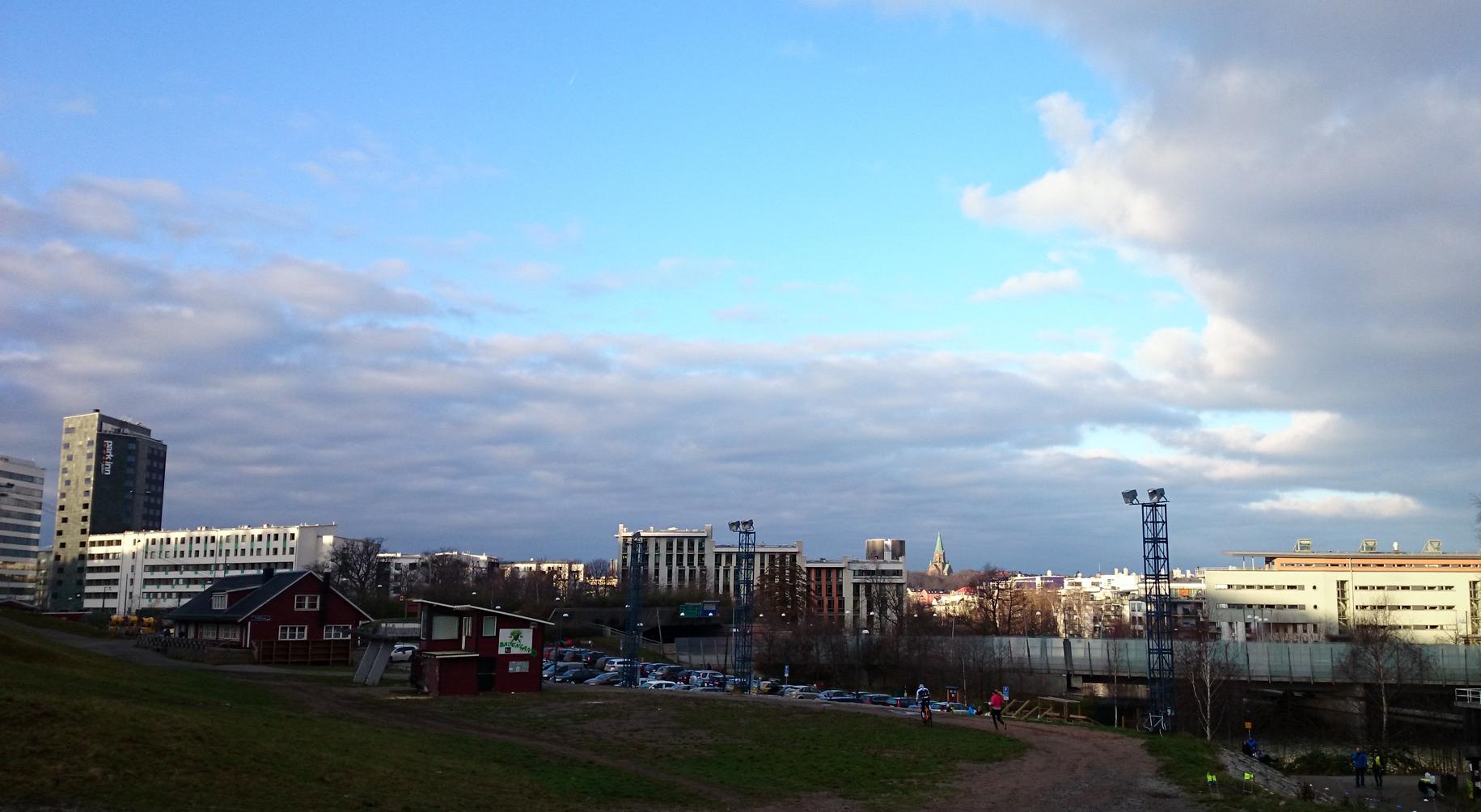 Väder vid Hammarbybacken