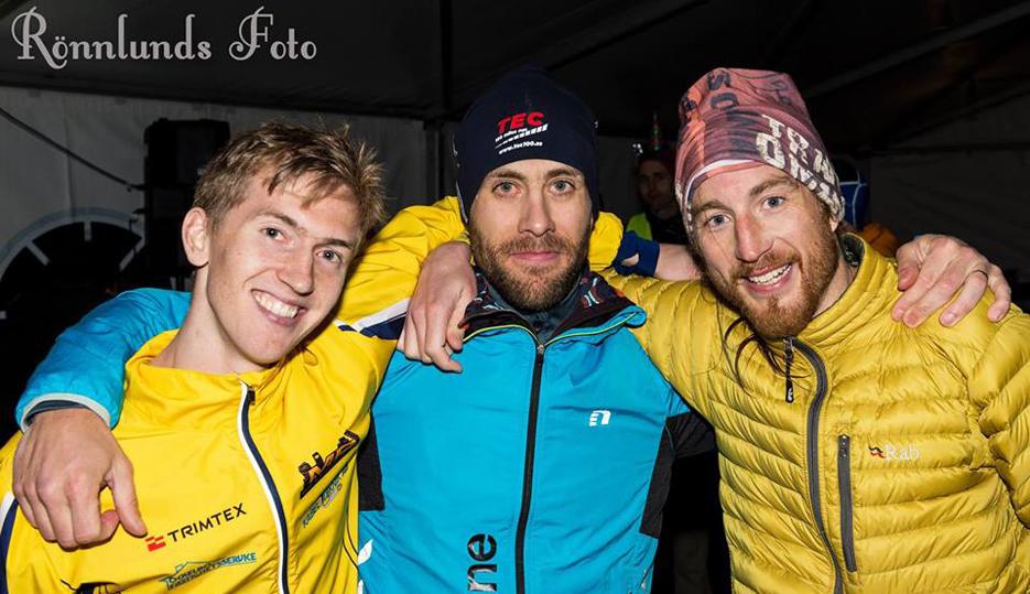 Elov, Andreas och jag Foto: Rönnlunds foto
